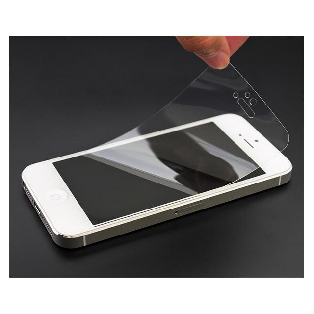 e4b9b907e5 衝撃吸収クリスタルフィルム for iPhone SE/5s/5c/5 POWER SUPPORT ...