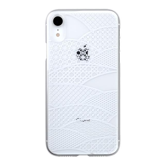 "f1b230b430 Web限定】Air Jacket ""Kiriko"" for iPhone XR 千代柄 (扇) クリア POWER ..."